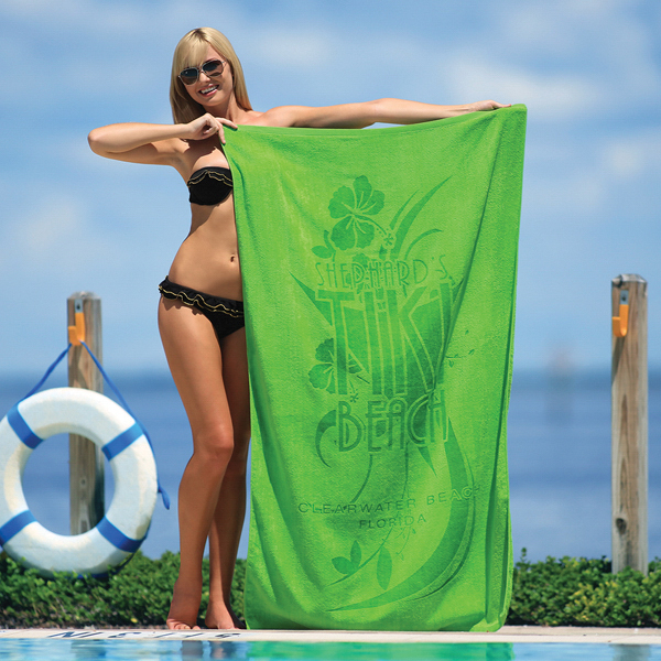 Promotional Jewel Collection Colored Beach Towel