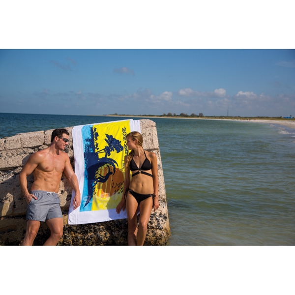 Custom Diamond Collection Beach Towel