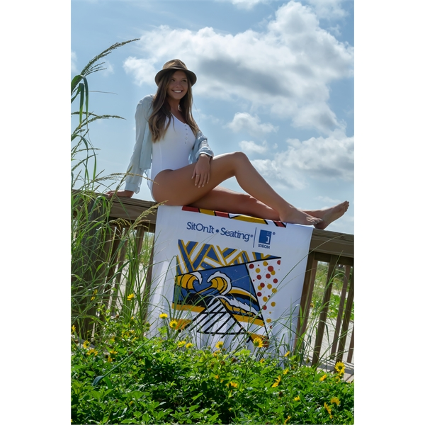 Promotional Diamond Collection Beach Towel