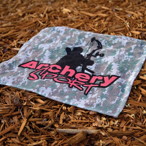 Personalized Small Camo Sport Towel