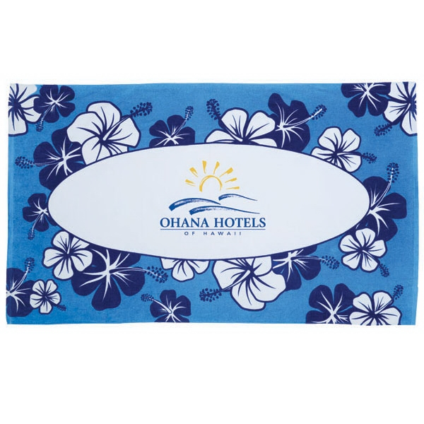 Custom Hibiscus Collection Stock Beach Towels