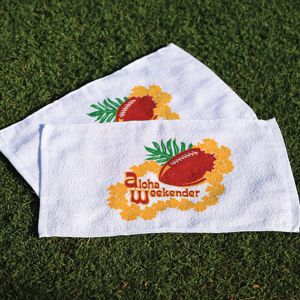 Imprinted Fingertip Sport/Stadium Towel