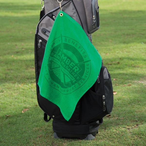 Custom Jewel Collection Soft Touch Golf Towel