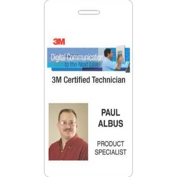 Personalized Photo ID Laminated Badge