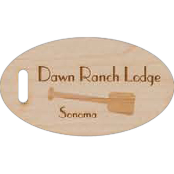 Customized Laser Engraved Wood Tag