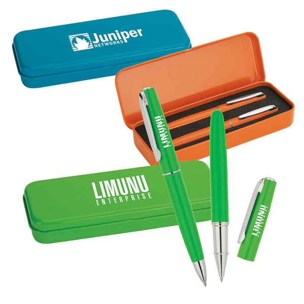Promotional Ballpoint and Rollerball Set