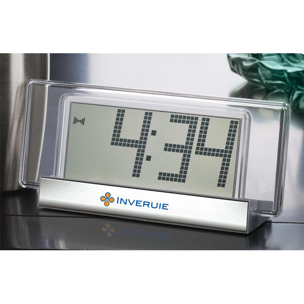 Personalized Metal Desk Clock