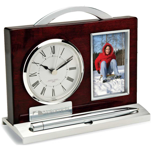 Customized Clock/ Pen and Photo Frame
