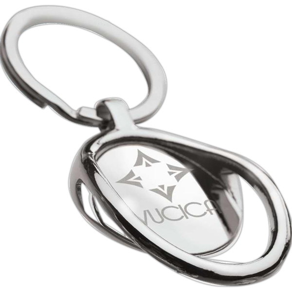 Imprinted Bottle Opener Keyring