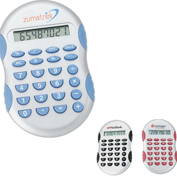 Customized Calculator with Rubber Touch Key