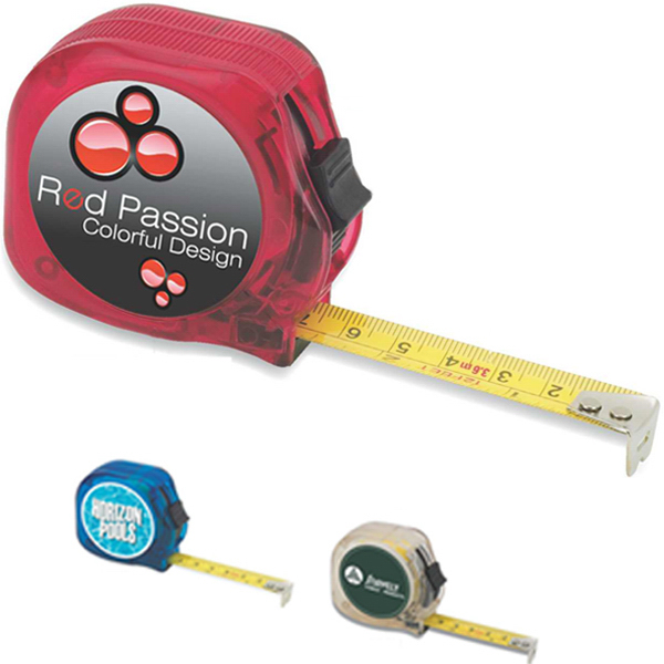 Printed Translucent Tape Measure
