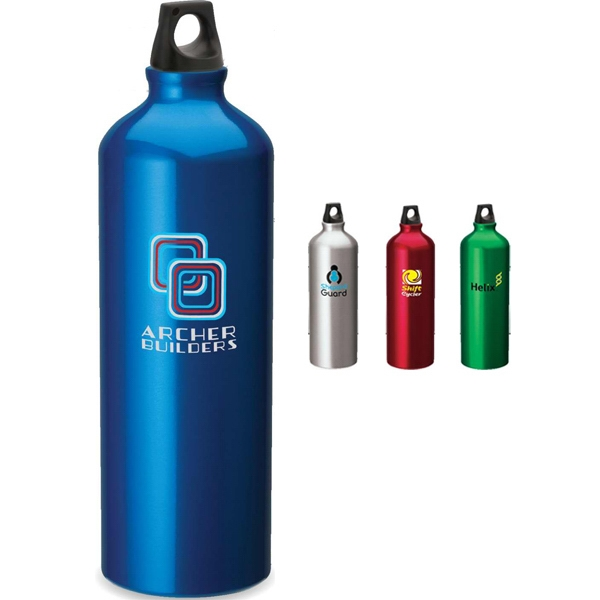 Imprinted Aluminum Sport bottle