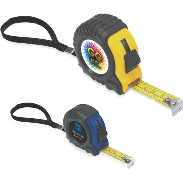 Printed Durable Plastic Case Tape Measure