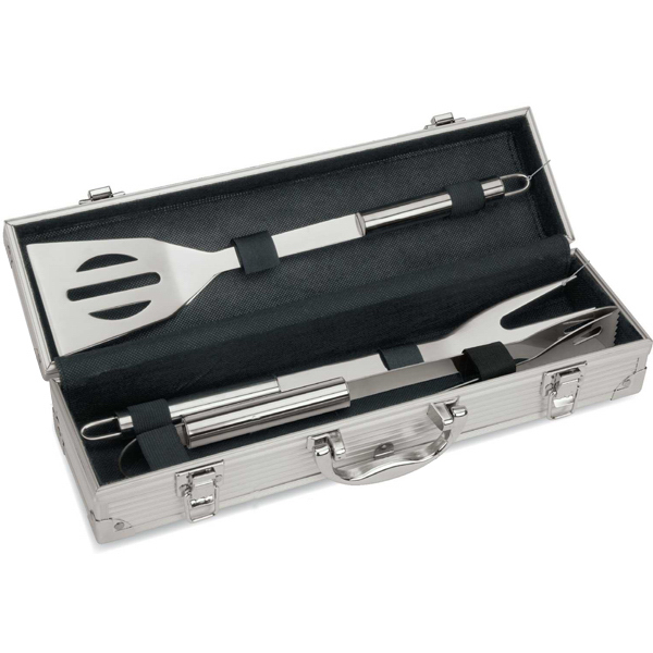Personalized Mini Executive Barbecue Set