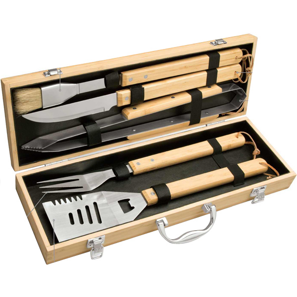 Printed Eco Barbecue Set