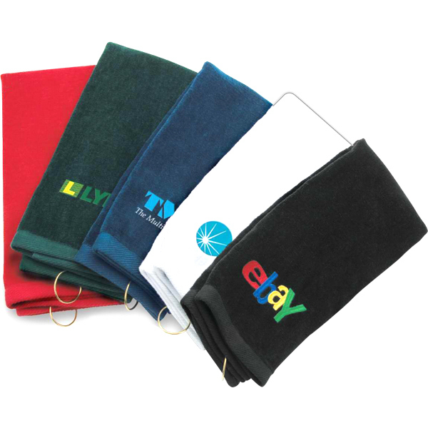 Promotional Classic Trifold Golf Towel