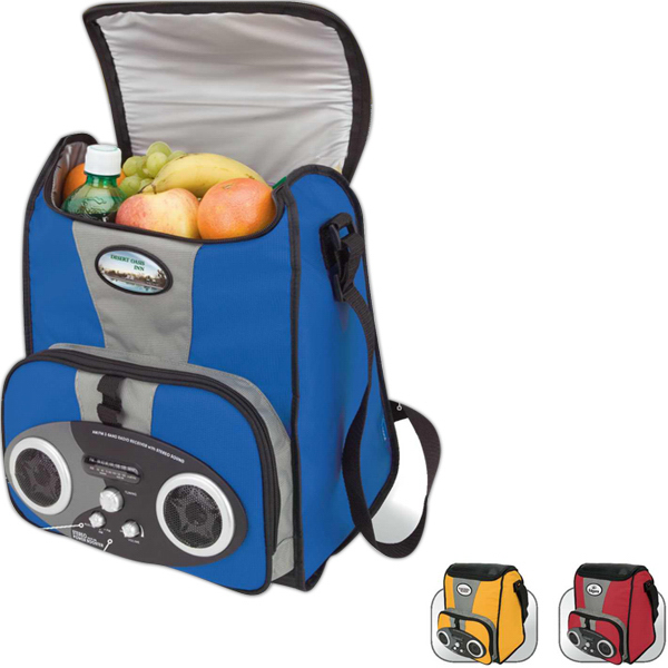Imprinted Large Stereo Cooler