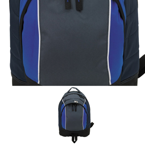 Customized Front Center Zip Pocket Backpack