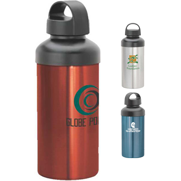 Printed Aluminum Wide Body Water Bottle