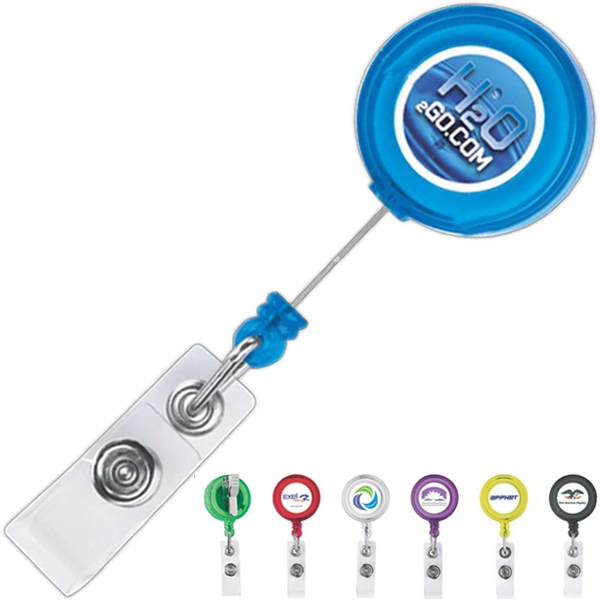 Imprinted Retractable Badge Holder
