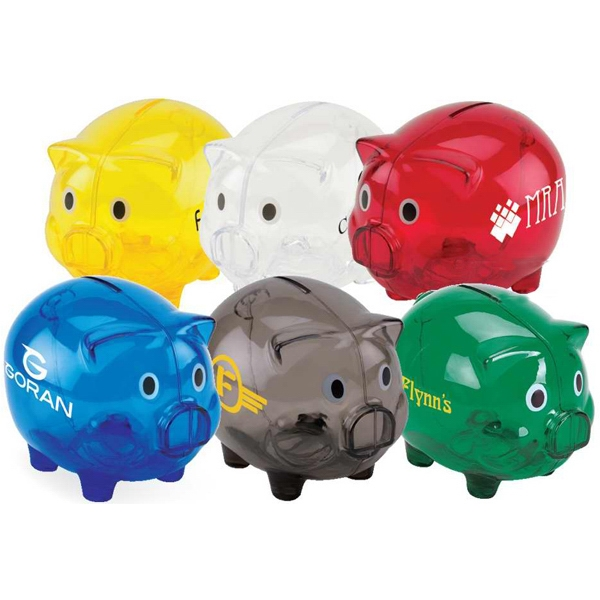 Customized Large Piggy Bank