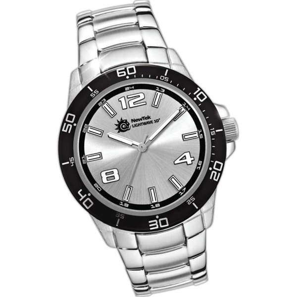 Personalized Steel Bracelet Watch