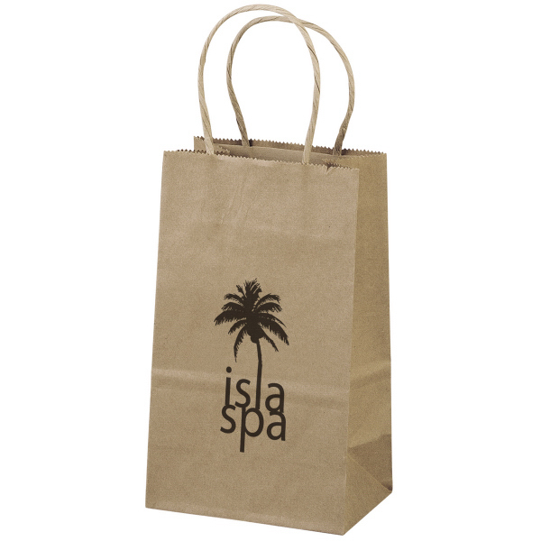 Imprinted Eco Pup Shopper with Flexographic Imprint