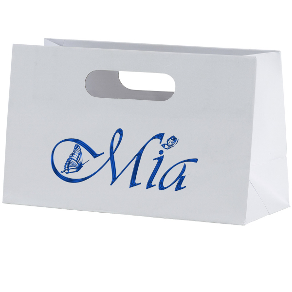 Customized Mia Boutique Die Cut Shopper Laminated Bag