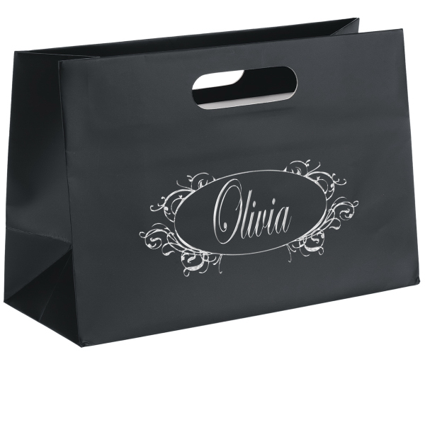 Personalized Olivia Boutique Die Cut Shopper