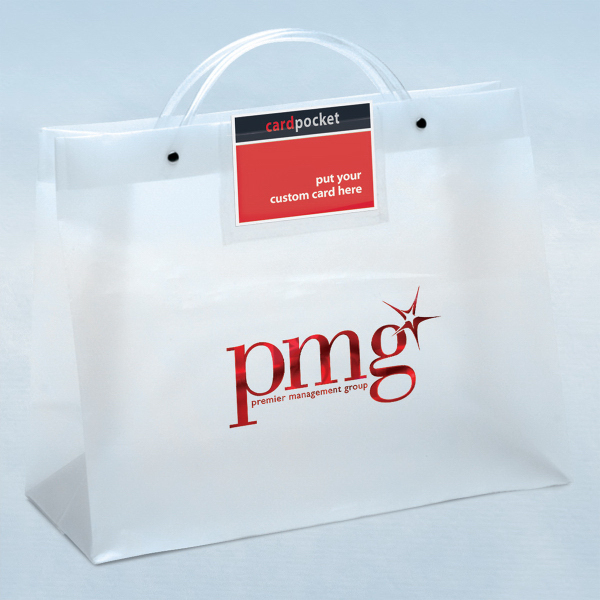 Personalized CEO Executote (TM) Frosted Bag