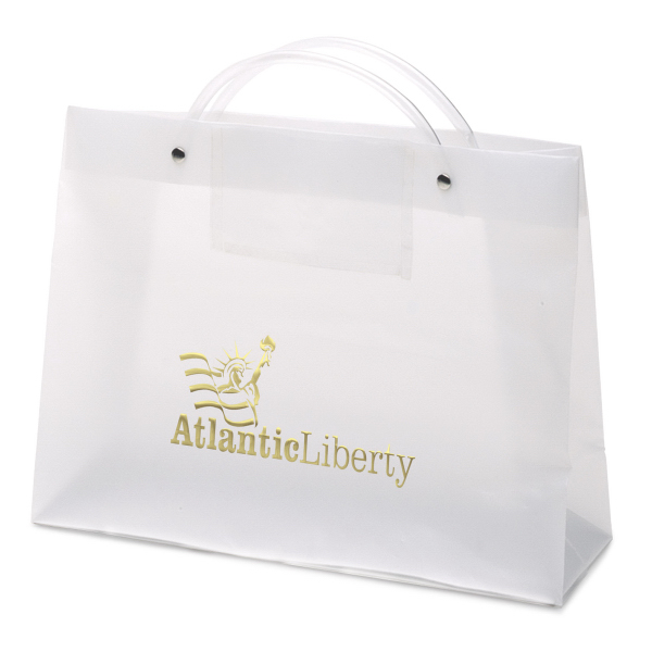 Customized PRES Executote (TM) Frosted Bag