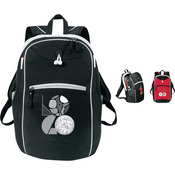 Imprinted Elite Laptop Backpack