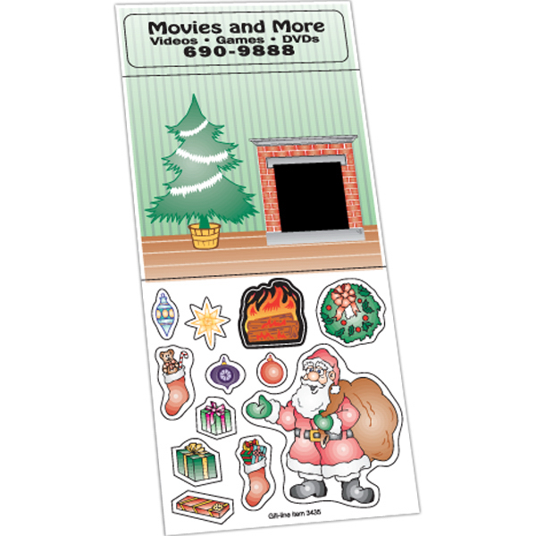 Printed Holiday Stickers