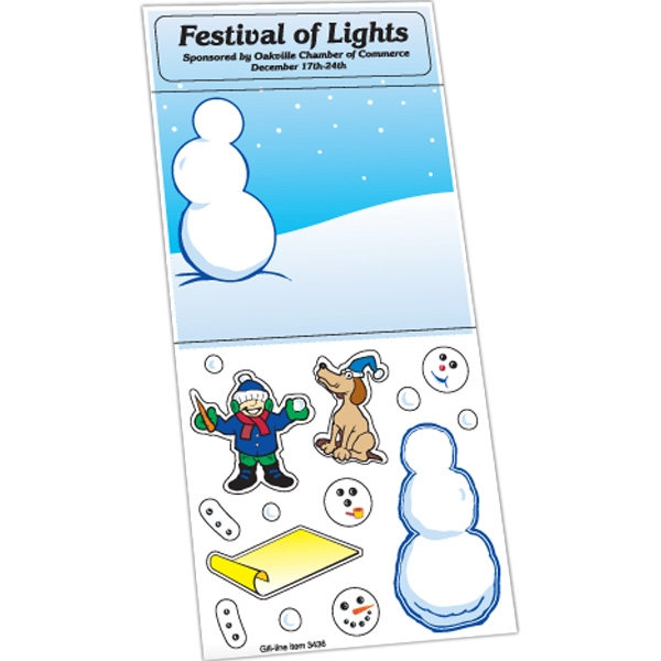 Customized Holiday Stickers