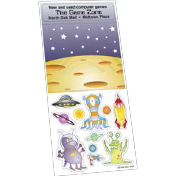 Imprinted Sticker Sheet Collection
