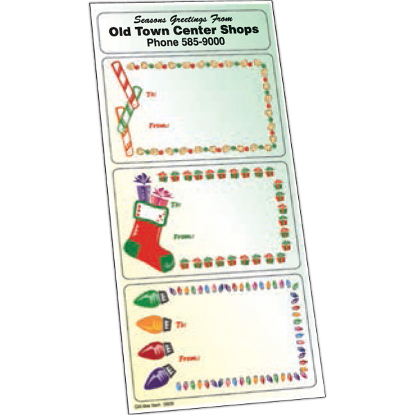 Promotional Holiday Stickers