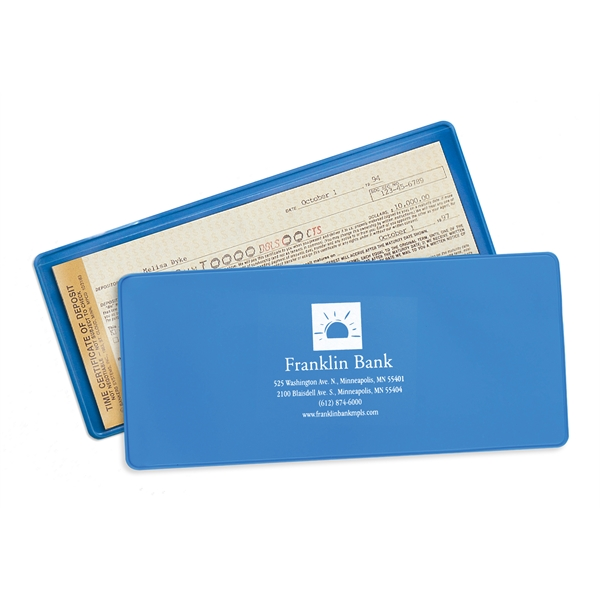 Personalized Certificate of Deposit Holder