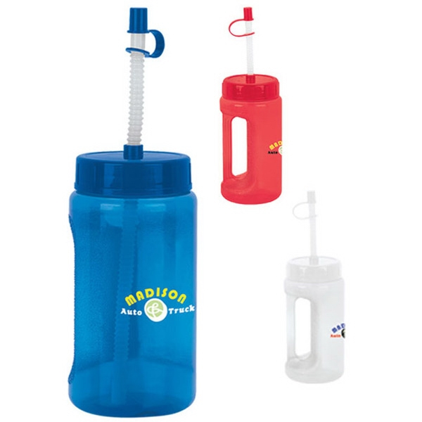 Customized Handle Bottle - 18 oz