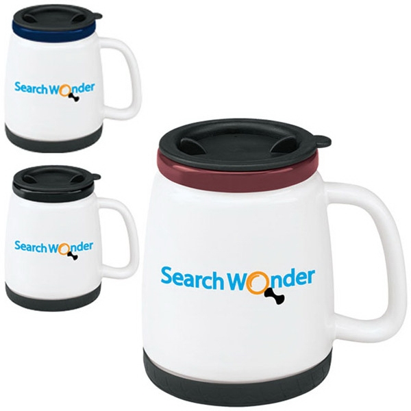 Promotional Ceramic Travel Mug - 18 oz