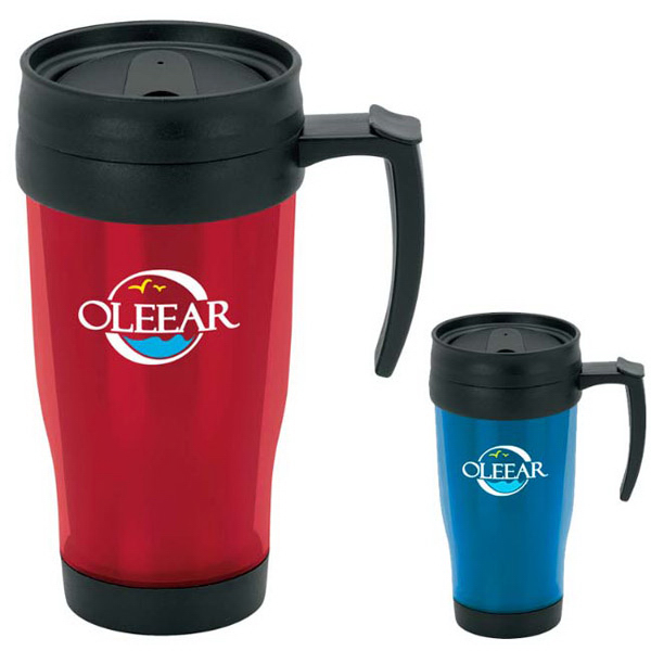 Custom Translucent Travel Mug - 15 oz