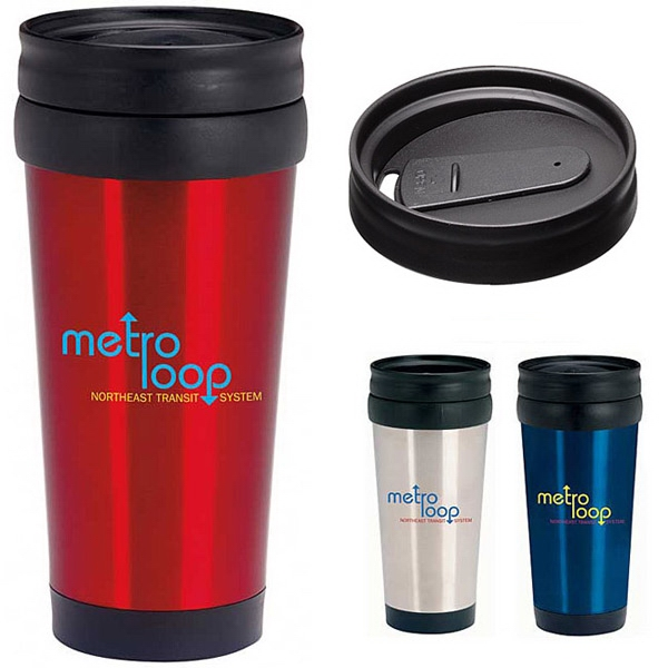 Promotional Stainless Deal Tumbler - 16 oz