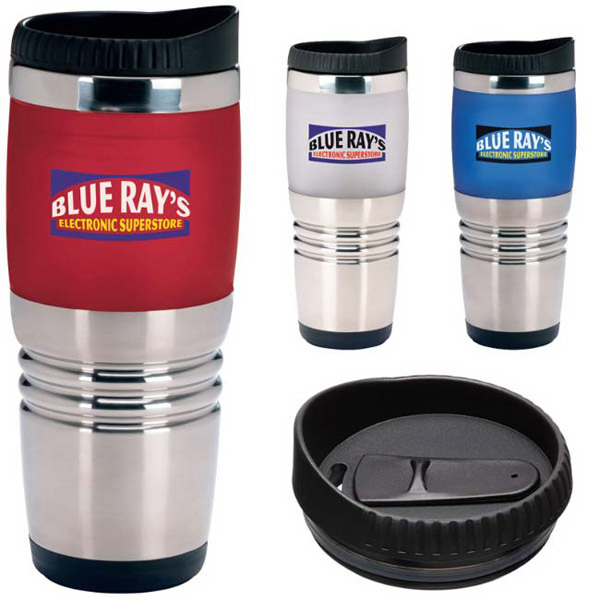 Imprinted Combo Ridge Tumbler - 16 oz