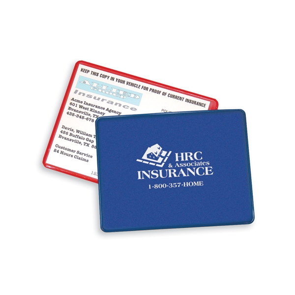 Personalized Proof of Insurance Holder