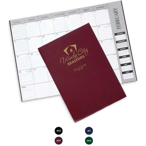 Promotional Monthly Desk Planner