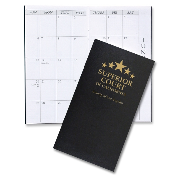 Imprinted Monthly Pocket Planner