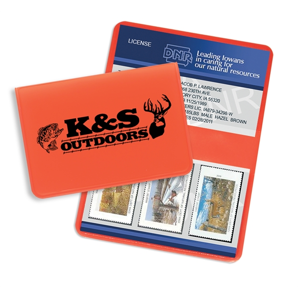 Personalized Game License Holder