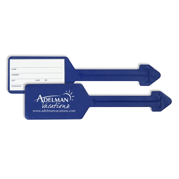 Promotional Value Leader Luggage Tag
