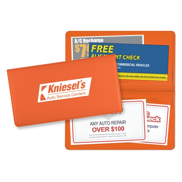 Promotional Coupon Holder