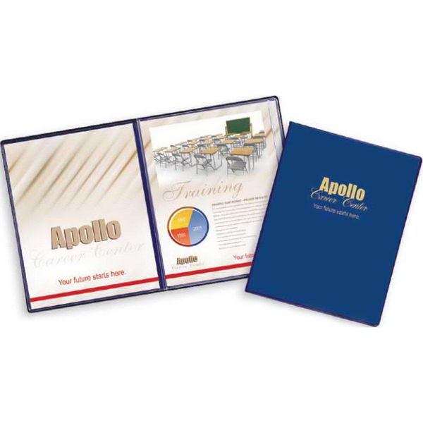 Personalized Deluxe Presentation Folder