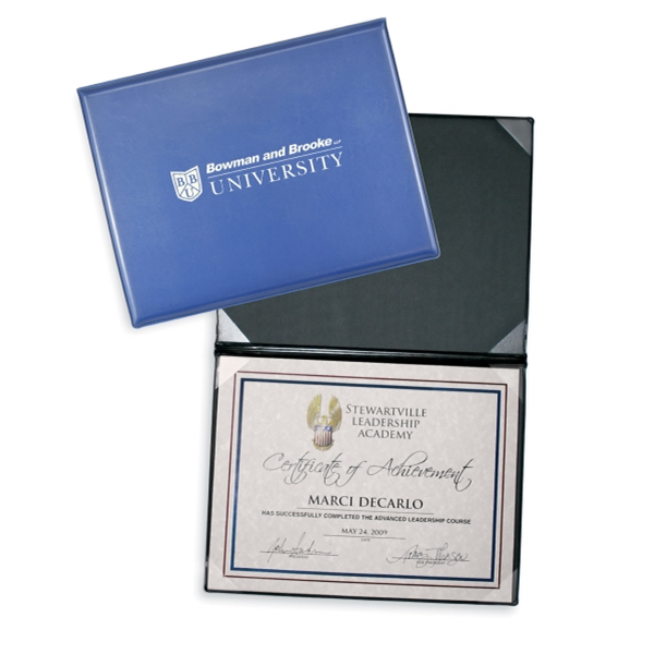 Personalized Certificate/Diploma Folder